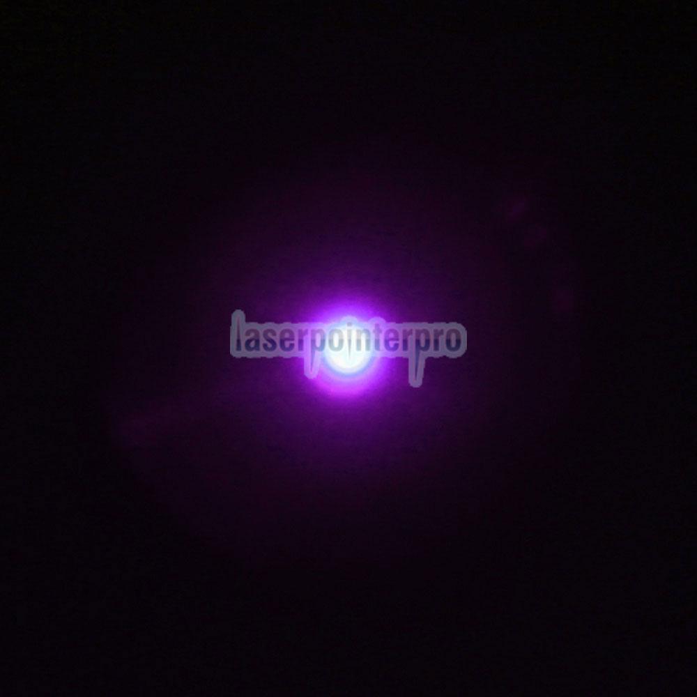 point de laser bleu