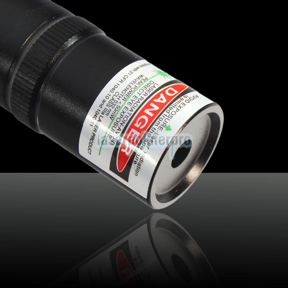 Puntatore laser verde stile mini torcia da 30mW 532nm
