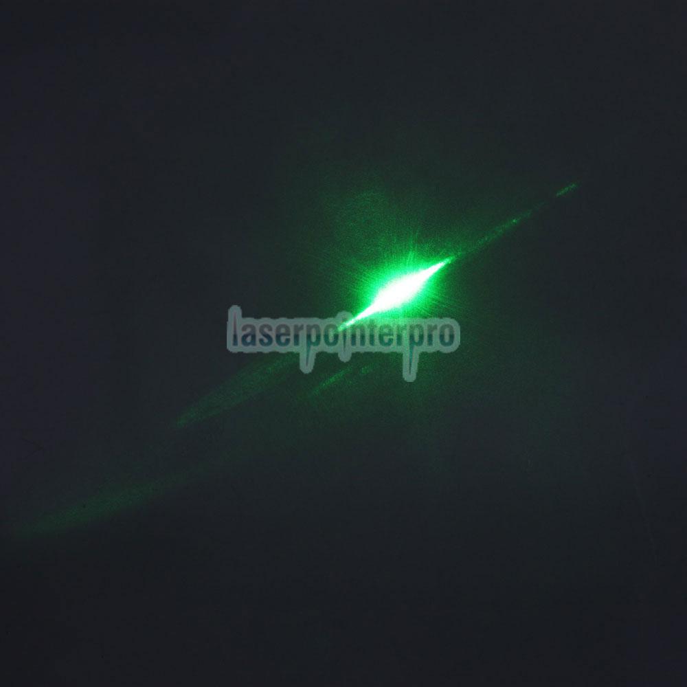 Mini puntero láser verde estilo linterna mini 30mW 532nm