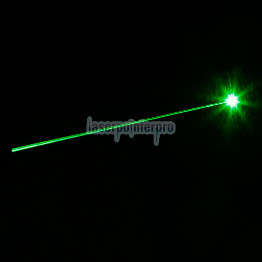 50mW 532nm Open-back Steel Green Laser Pointer