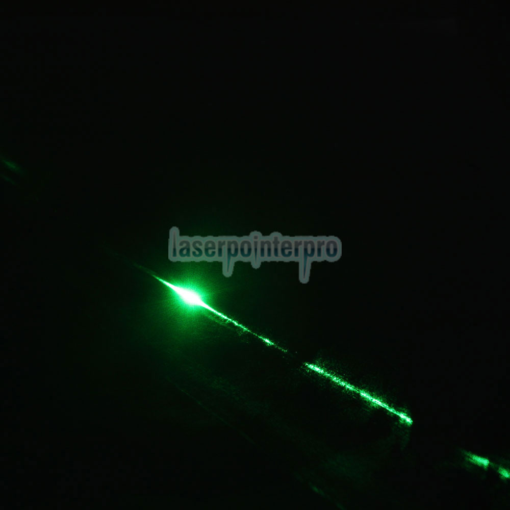 2Pcs 200mW 532nm Mid-aberto Green Laser Pointer Pen
