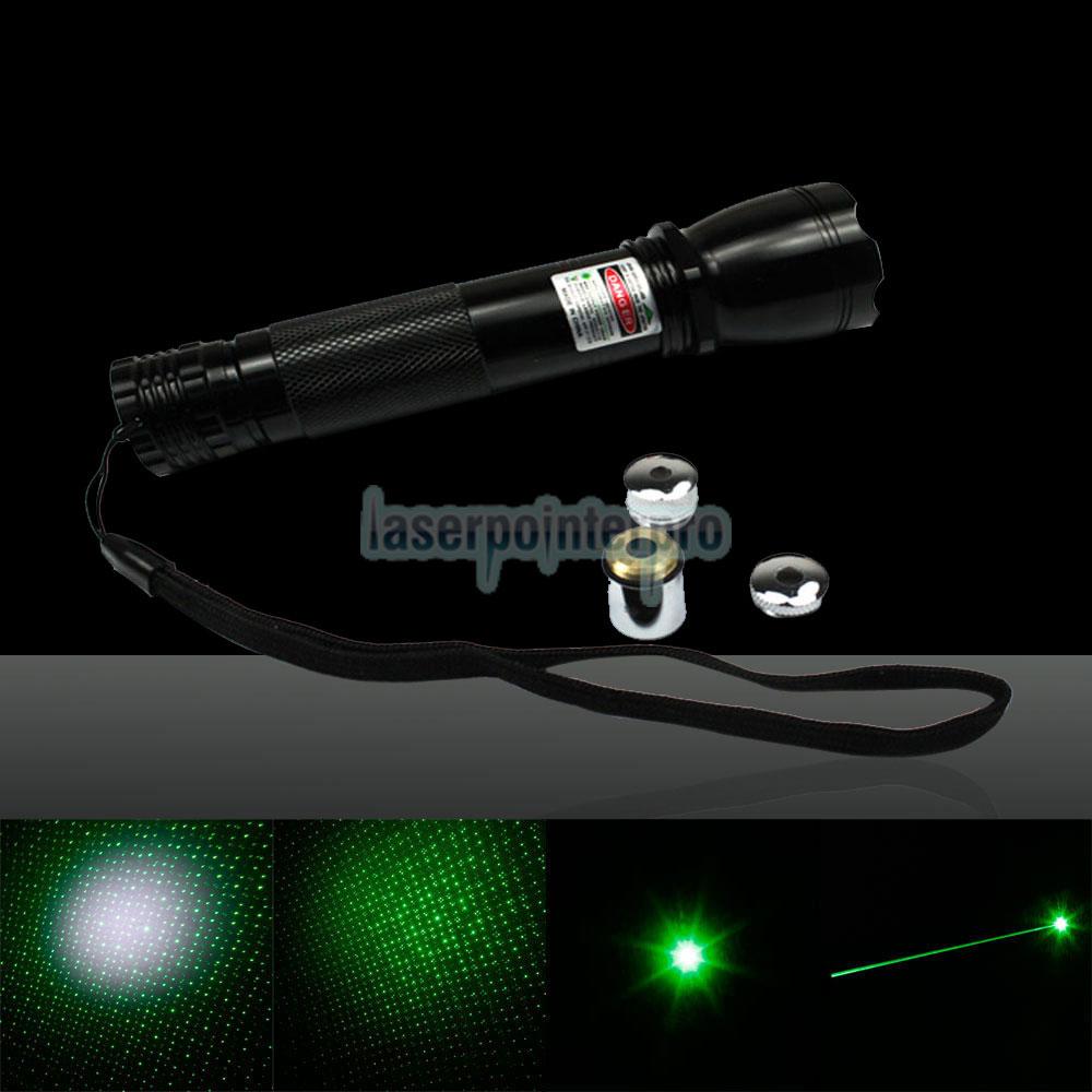 grüner Laserpunkt