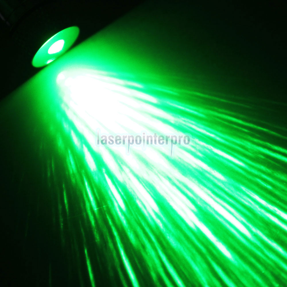 5mW 532nm Open-back Kaleidoscopic Caneta Laser Pointer Verde