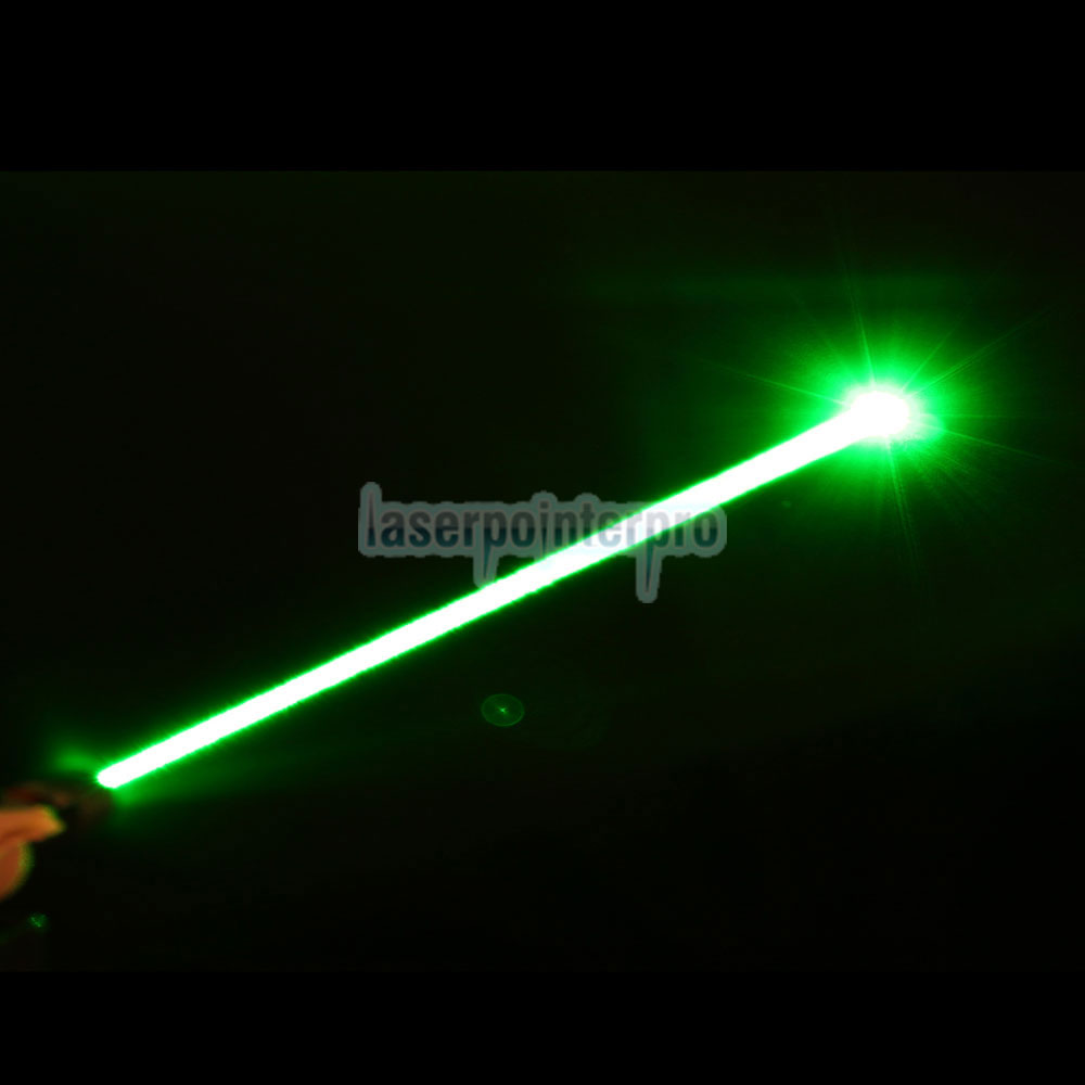 100mW 532nm Mid-open foco fixo Green Laser Pointer Pen