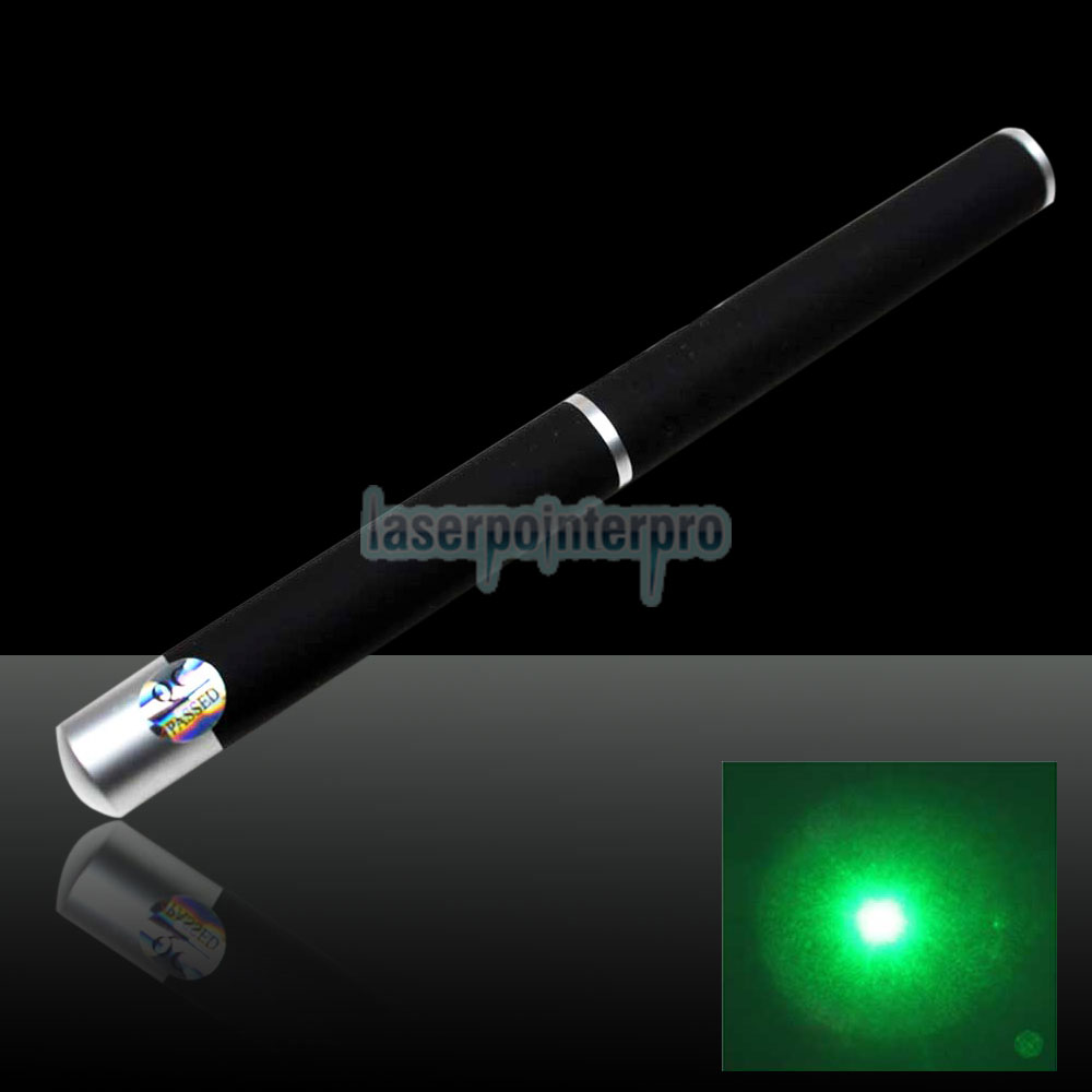 30mW 532nm Powerful Mid-open Green Laser Pointer