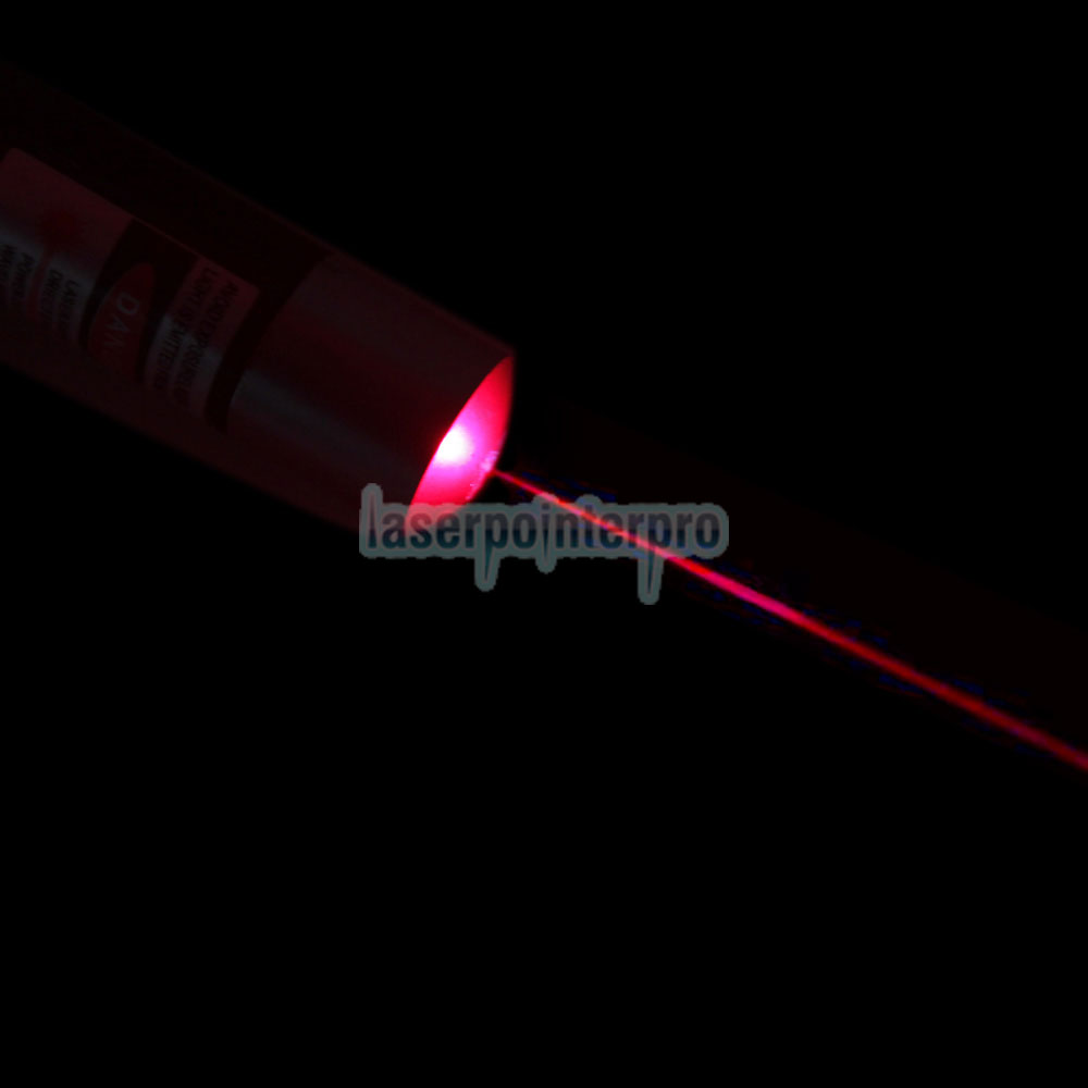 100mW 650nm de alta potência Mid-aberto Red Laser Pointer Pen