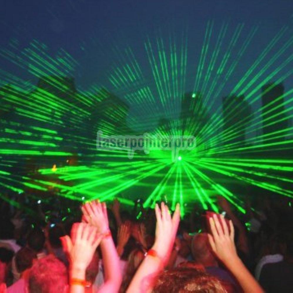 ponto de laser vermelho