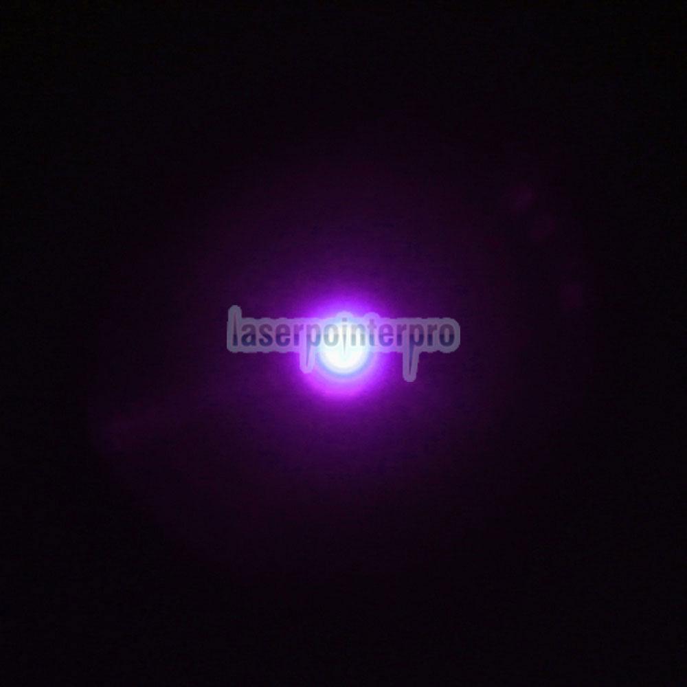 30mW 405nm elegante puntero láser azul violeta medio abierto