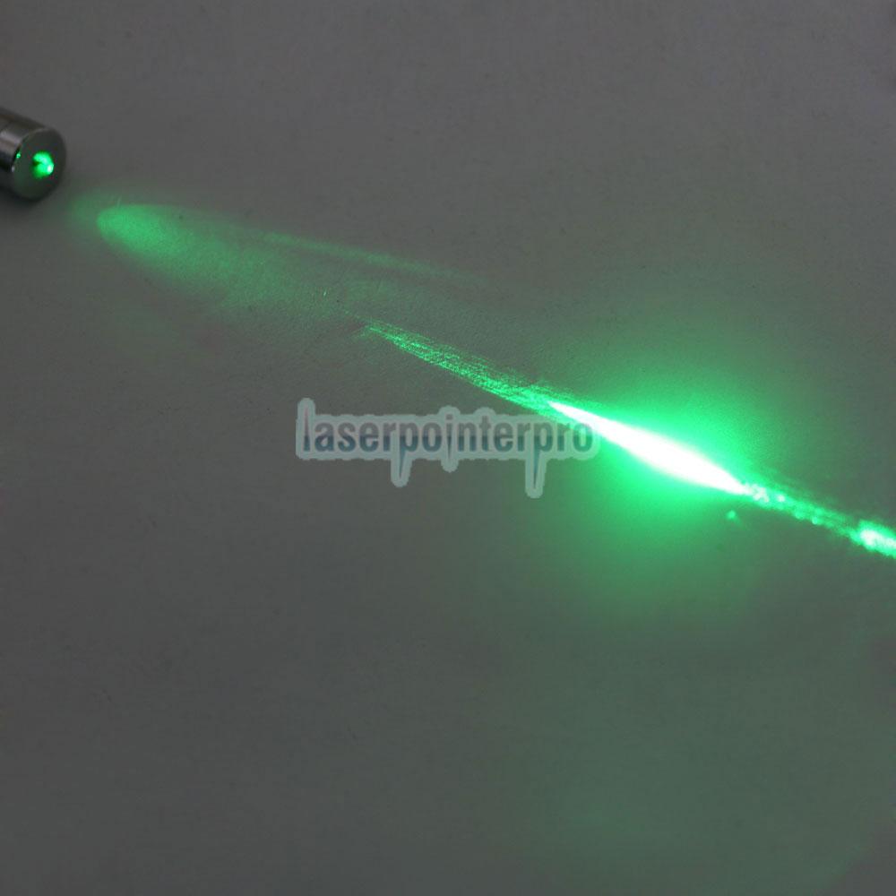 Pointeur laser vert en acier à dos ouvert de 100 mW et 532 nm