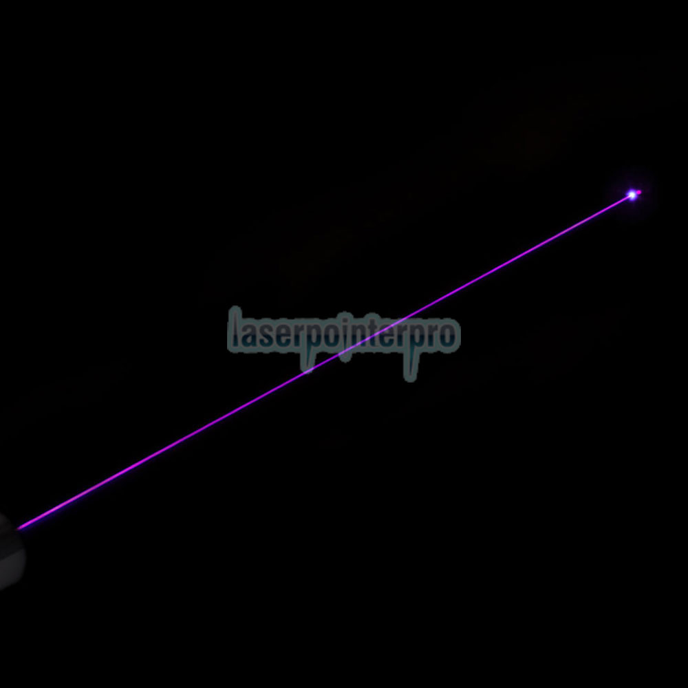 Ponteiro laser azul-violeta 100mW 405nm meio aberto