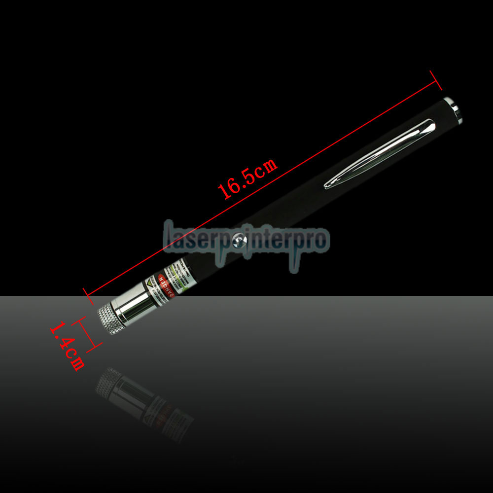 30mW 532nm Open-back Kaleidoscopic Green Laser Pointer Pen with 2AAA Battery