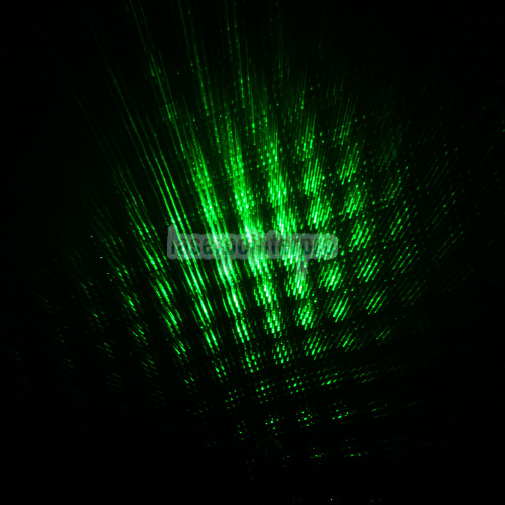 punto de láser verde
