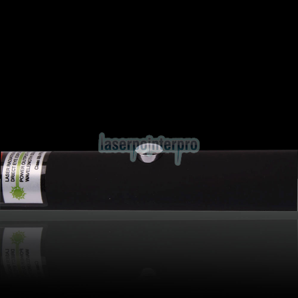 120mW 532nm Open-back Kaleidoscopic Green Laser Pointer Pen with 2AAA Battery
