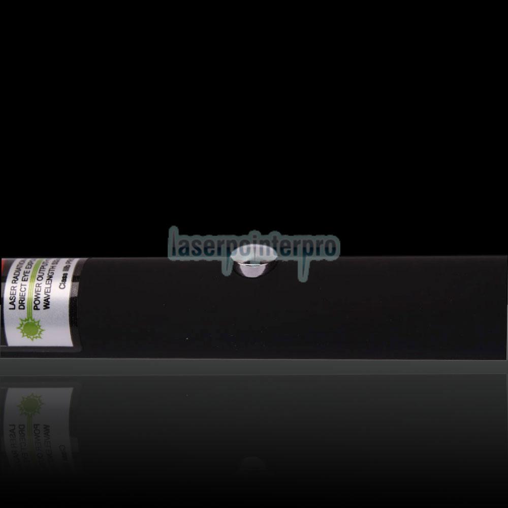 Pluma de puntero láser verde caleidoscópica de 120 mW 532 nm con batería 2AAA