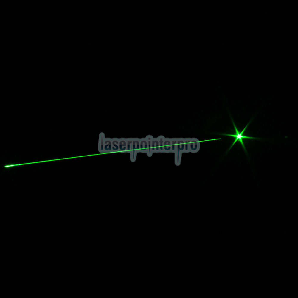 20mW 532nm Mid-open Green Laser Pointer Pen with Battery