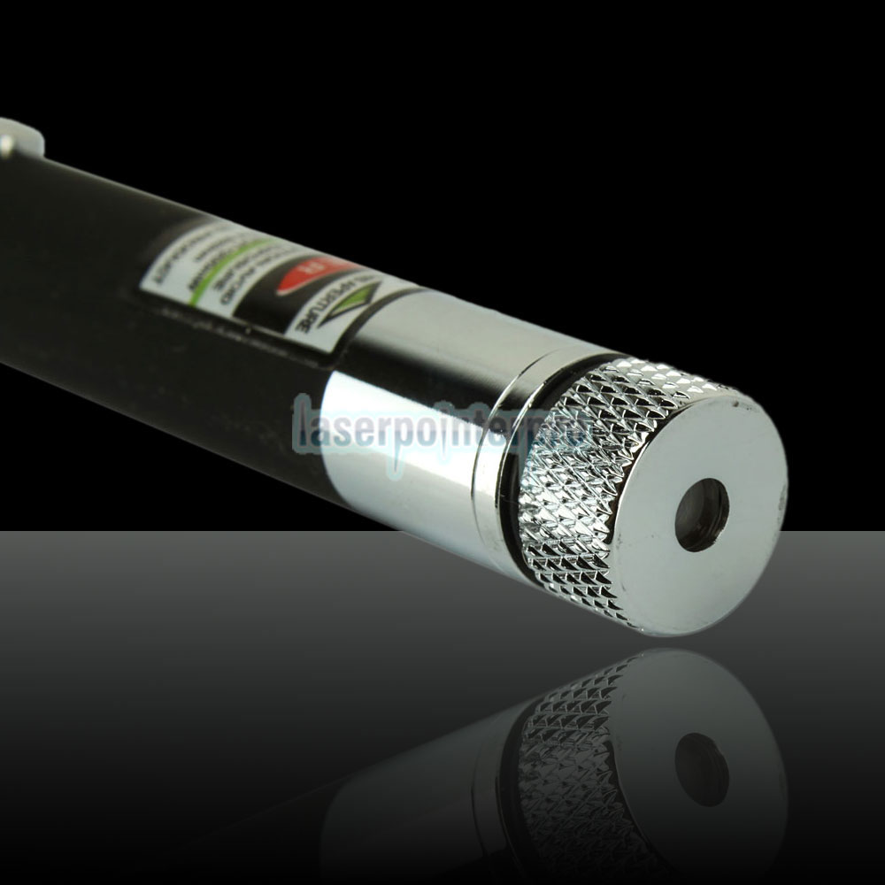 200mW 532nm Mid-open Kaleidoscopic Green Laser Pointer Pen with 2AAA Battery