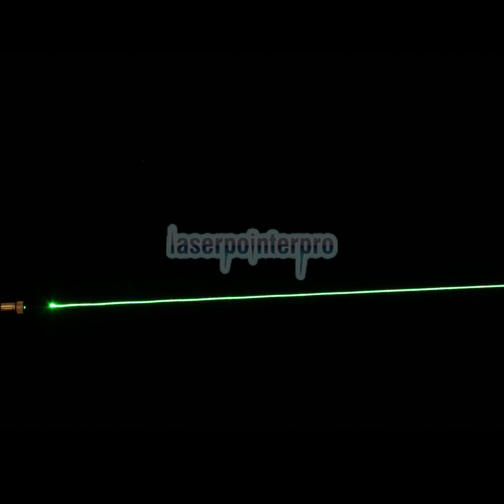 point de laser vert