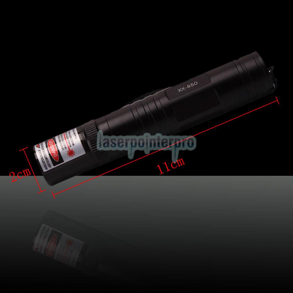 point de laser rouge