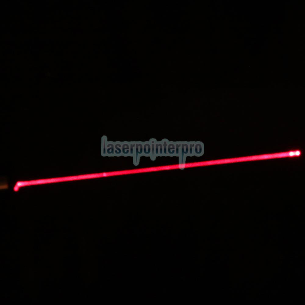 Tipo de linterna 30mW 650nm 850 tipo lápiz puntero láser rojo con 16340 batería