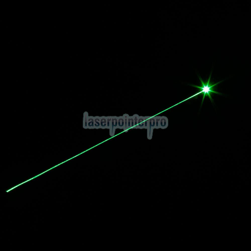 O estilo da lanterna elétrica de 30mW 532nm ajusta a pena verde do ponteiro do laser do foco com a bateria 18650