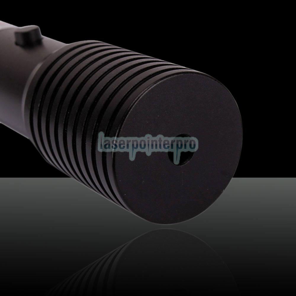 200 mW 532 nm Taschenlampe Style 1010 Typ Grüner Laser-Zeigestift mit 16340 Batterie
