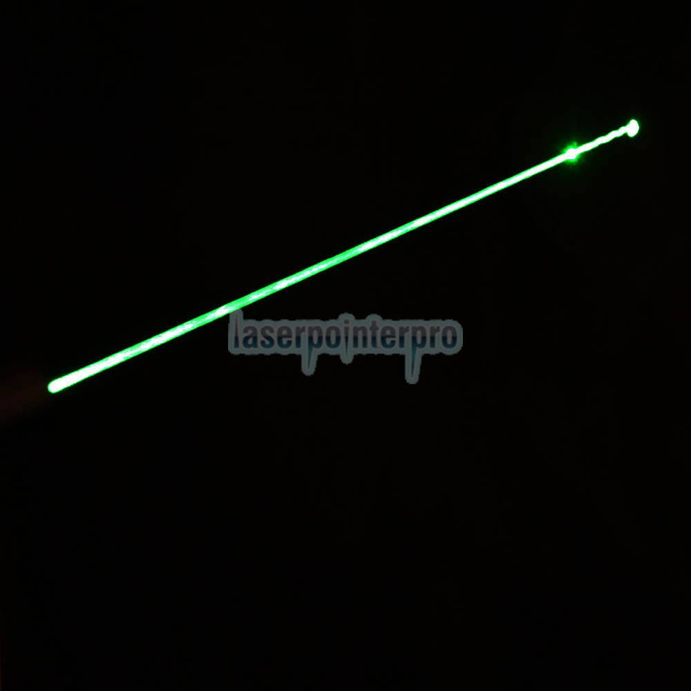 50mW 532nm 1010 Type Flashlight Style Green Laser Pointer Pen with 16340 Battery