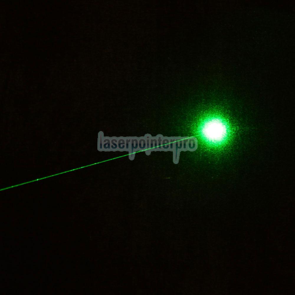 Stylo pointeur laser vert Laser 302 250mW 532nm avec lampe style lampe de poche 18650