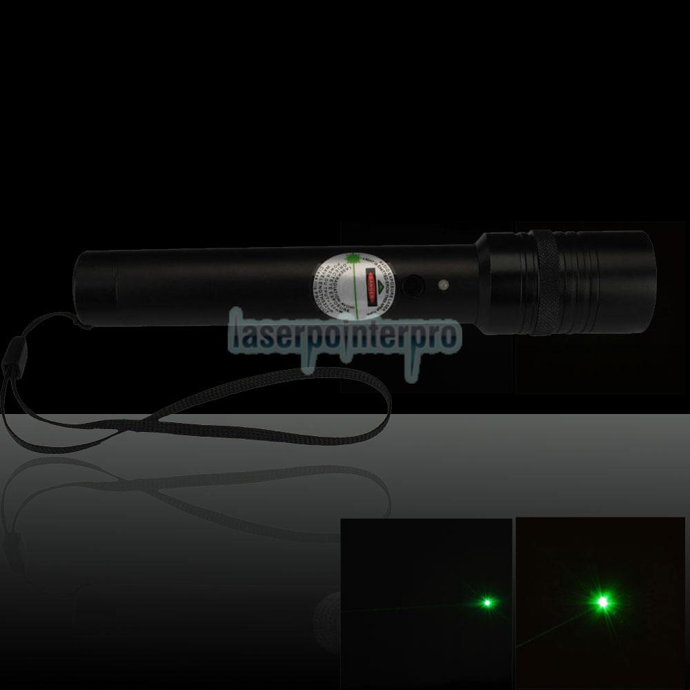 punto láser verde