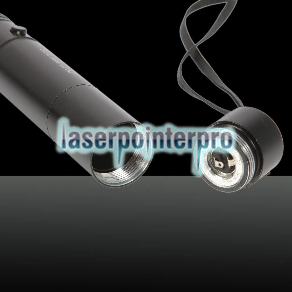 blue-violet laser point