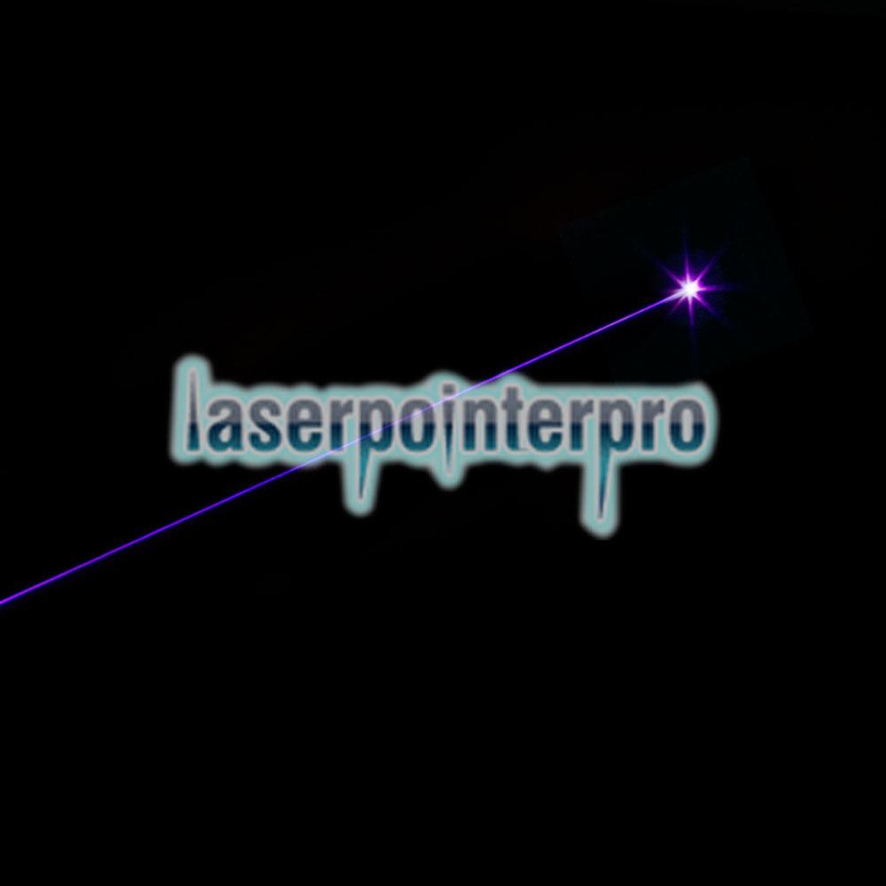 bleu-violet point laser