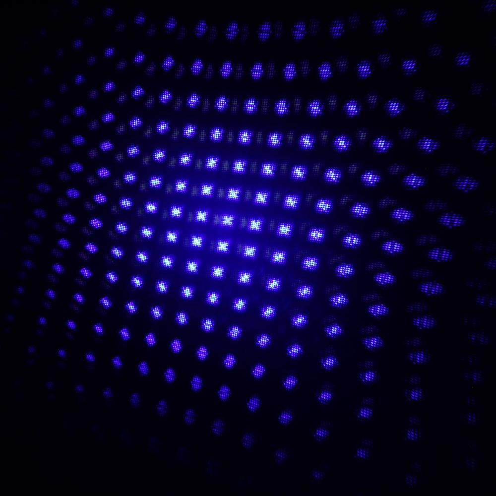 30000mw 450nm 5 en 1 kits de puntero láser azul de alta potencia de combustión negro