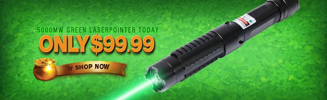 Puntatore laser 5000 mw