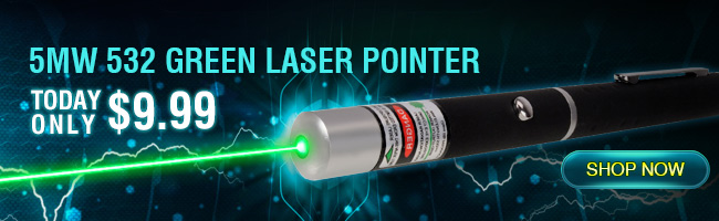 Puntero laser de 5mw