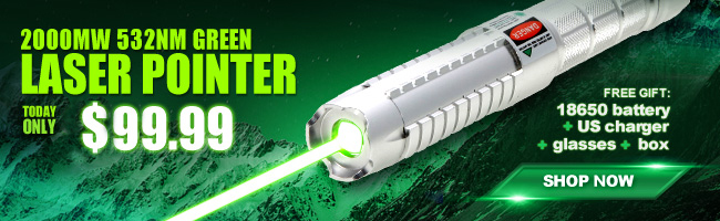 2000mw Laser-Pointer