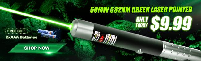 Puntero laser de 50mw