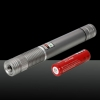 500MW Beam Green Laser Pointer (1 x 4000mAh) Silver