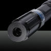 2000mW Burning 450nm 5-em-1 Blue Beam Light Laser Pointer Pen Kit Preto