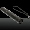 1mW 532nm Vert Beam Light Tailcap Interrupteur Rechargeable Laser Pointer Pen avec Chargeur Noir 851
