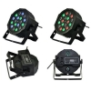 18W LED RGB Ball Ball en forme de scène Light Black