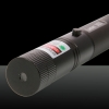 100mW 532nm Single-Point & Starry Light 2-in-1 Green Beam Laser Pointer Pen Black
