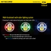 Nitecore 440LM 1500mW 850nm CI6 Infrarossi XP-G2 Strong Light Waterproof LED Flashlight Nero