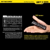 Nitecore 550LM SRT3 XM-L2 Waterproof Flashlight Black