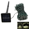 200-LED Warm White Light Outdoor Waterproof Christmas Decoration Solar Power String Light