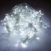 3M x 3M 300-LED White Light Romantic Christmas Wedding Outdoor Decoration Curtain String Light (110V) EU Standard Plug