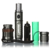 2000lm 3-Mode Waterproof Lotus Head LED Flashlight Suit Gray