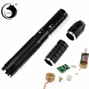 UKing ZQ-j8 8000mW 445nm Blue Beam 3-Mode Zoomable 5-in-1 Laser Pointer Pen Kit Black