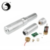 UKing ZQ-j9 3000mW 445nm Blue Beam Single Point Zoomable Laser Pointer Pen Kit Silver