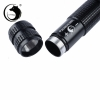 UKing ZQ-012L 200mW 532nm Feixe Verde 4-Mode Zoomable Caneta Laser Pointer Preto