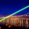 UKing ZQ-j10L 30000mW 520nm Pure Green Beam Single Point Zoomable Penna puntatore laser nero