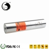 UKing ZQ-j12L 500 mW 520nm Pure Green Feixe Único Ponto Zoomable Laser Pointer Pen Kit Titanium Prata